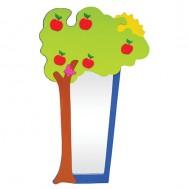 Ağaç Figürlü Boy Aynası
