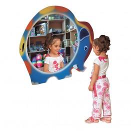 Fil Figürlü Boy Aynası