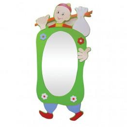 Keloğlan Figürlü Boy Aynası