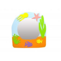 Deniz Canlıları Figürlü Lavabo Aynası
