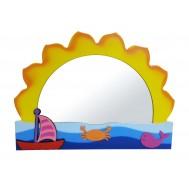 Doğan Güneş Figürlü Lavabo Aynası