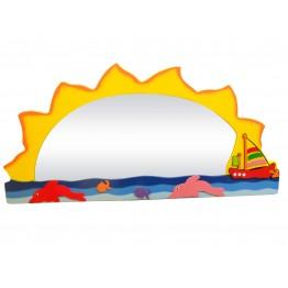 Güneş Figürlü Lavabo Aynası