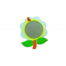 Çiçek Figürlü Lavabo Aynası