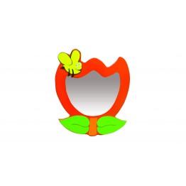 Arı ve Yaprak Figürlü Lavabo Aynası