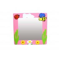 Uğur Böceği ve Arı Figürlü Lavabo Aynası