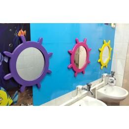 Dümen Figürlü Lavabo Aynası