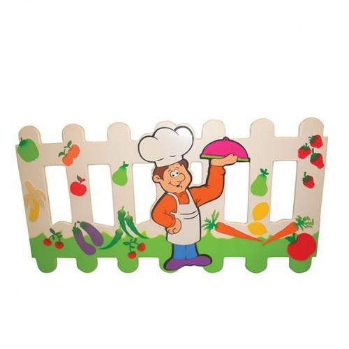 Aşçı Figürlü Çit modelleri, Aşçı Figürlü Çit fiyatı, anaokulu Çitler fiyatları, anasınıfı Çitler modelleri görselleri ve resimleri, anaokulu kreş malzemeleri