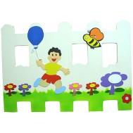 Balonlu Çocuk Çit