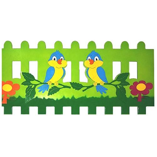 Dala Konan Kuş Figürlü Çit modelleri, Dala Konan Kuş Figürlü Çit fiyatı, anaokulu Çitler fiyatları, anasınıfı Çitler modelleri görselleri ve resimleri, anaokulu kreş malzemeleri