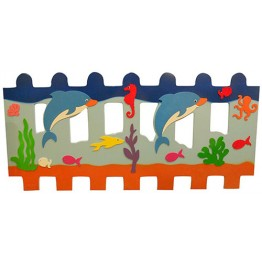 Yüzen Yunus Figürlü Çit