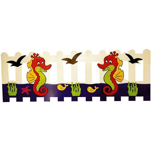 Denizatı Figürlü Çit modelleri, Denizatı Figürlü Çit fiyatı, anaokulu Çitler fiyatları, anasınıfı Çitler modelleri görselleri ve resimleri, anaokulu kreş malzemeleri