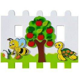 Elma Ağacı Figürlü Çit