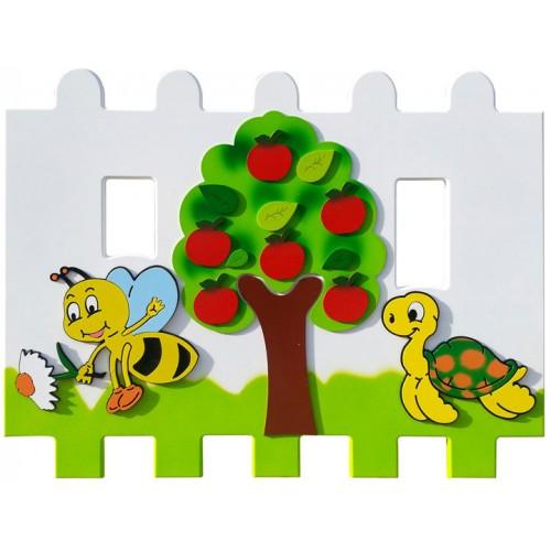 Elma Ağacı Figürlü Çit modelleri, Elma Ağacı Figürlü Çit fiyatı, anaokulu Çitler fiyatları, anasınıfı Çitler modelleri görselleri ve resimleri, anaokulu kreş malzemeleri