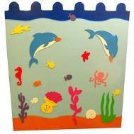 Yunuslu Deniz Figürlü Çit