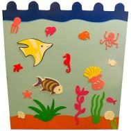 Deniz Canlıları Figürlü Çit