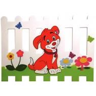 Köpek Figürlü Çit