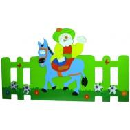 Nasreddin Hoca Figürlü Yeşil Çit