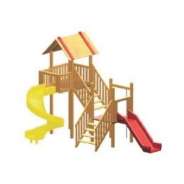 Güney Ahşap Çocuk Oyun Parkı