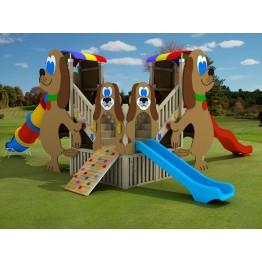 Tonya Ahşap Çocuk Oyun Parkı