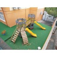 Kale Ahşap Çocuk Oyun Parkı