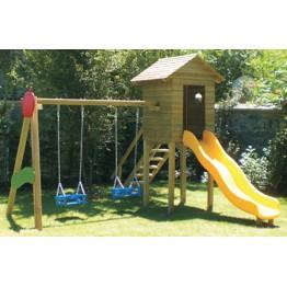 Oyunevi Ahşap Çocuk Oyun Parkı