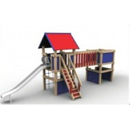 Ahşap Çocuk Oyun Parkı
