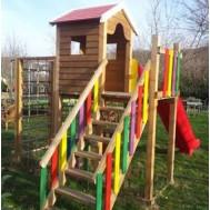 Renkli Çocuk Oyun Parkı