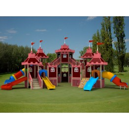 Saraycık Ahşap Çocuk Oyun Parkı