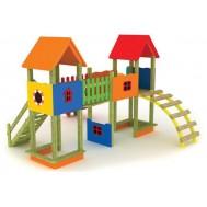 Yuvarlak Merdivenli Çocuk Oyun Parkı