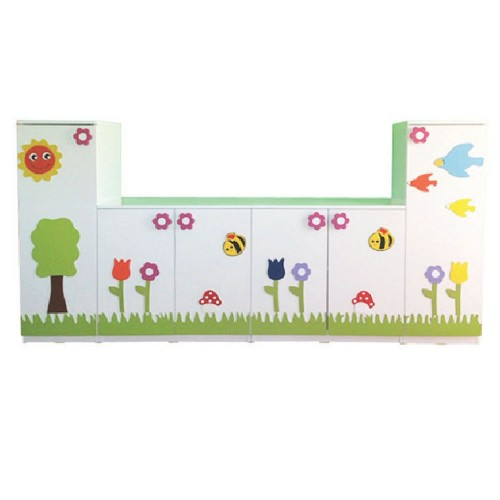Çiçek Figürlü Anaokulu Dolap modelleri, Çiçek Figürlü Anaokulu Dolap fiyatı, anaokulu Çiçek Figürlü Anaokulu Dolap fiyatları, anasınıfı Çiçek Figürlü Anaokulu Dolap modelleri görselleri ve resimleri, anaokulu kreş malzemeleri