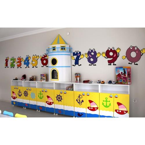 Sarı Deniz Feneri modelleri, Sarı Deniz Feneri  fiyatı, anaokulu Sarı Deniz Feneri fiyatları, anasınıfı Sarı Deniz Feneri modelleri görselleri ve resimleri, anaokulu kreş malzemeleri