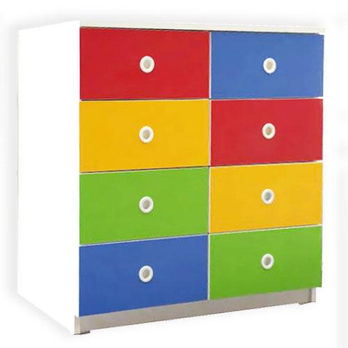 Renkli 8 Çekmeceli Dolap modelleri, Renkli 8 Çekmeceli Dolap fiyatı, anaokulu Dolaplar fiyatları, anasınıfı Dolaplar modelleri görselleri ve resimleri, anaokulu kreş malzemeleri