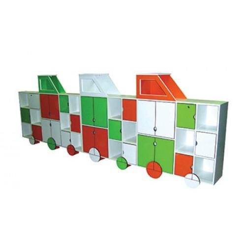 Tren Model Kapaklı Sınıf Dolabı modelleri, Tren Model Kapaklı Sınıf Dolabı fiyatı, anaokulu Dolaplar fiyatları, anasınıfı Dolaplar modelleri görselleri ve resimleri, anaokulu kreş malzemeleri