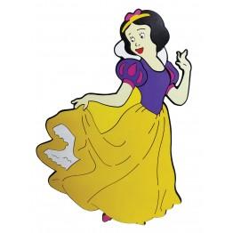 8 Adet Prenses ve 7 Cüceler Figürlü Duvar Süsü