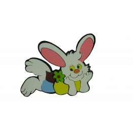 Tavşan Figürlü Duvar Süsü