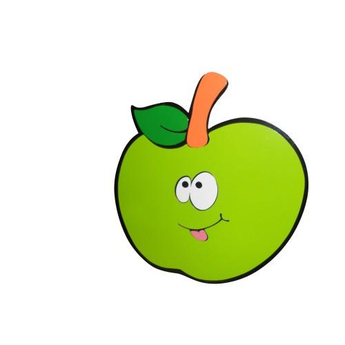 Gülen Yeşil Elma Figürlü Duvar Süsü modelleri, Gülen Yeşil Elma Figürlü Duvar Süsü fiyatı, anaokulu Duvar Süslemeleri fiyatları, anasınıfı Duvar Süslemeleri modelleri görselleri ve resimleri, anaokulu kreş malzemeleri