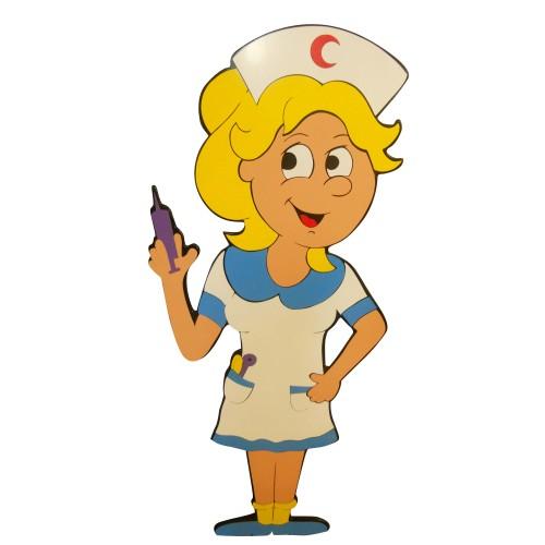 Hemşire Figürlü Duvar Süsü modelleri, Hemşire Figürlü Duvar Süsü fiyatı, anaokulu Duvar Süslemeleri fiyatları, anasınıfı Duvar Süslemeleri modelleri görselleri ve resimleri, anaokulu kreş malzemeleri