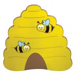 Arı Kovanı Figürlü Duvar Süsü