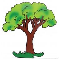 Ağaç Figürlü Duvar Süsü