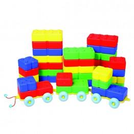 40 Parça Arabalı Lego Takımı