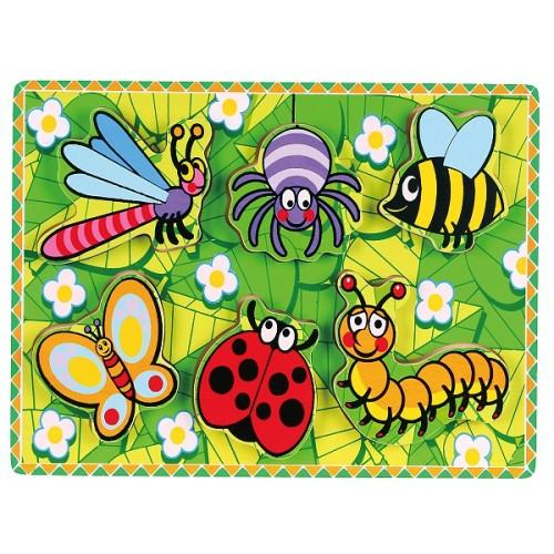 3D Böcekler Puzzle modelleri, 3D Böcekler Puzzle fiyatı, anaokulu Puzzle & Yapboz fiyatları, anasınıfı Puzzle & Yapboz modelleri görselleri ve resimleri, anaokulu kreş malzemeleri