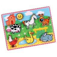 3D Çiftlik Hayvanları Puzzle