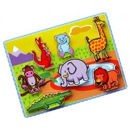 3D Vahşi Hayvanlar Puzzle