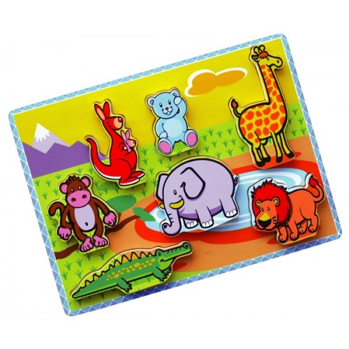 3D Vahşi Hayvanlar Puzzle modelleri, 3D Vahşi Hayvanlar Puzzle fiyatı, anaokulu Puzzle & Yapboz fiyatları, anasınıfı Puzzle & Yapboz modelleri görselleri ve resimleri, anaokulu kreş malzemeleri