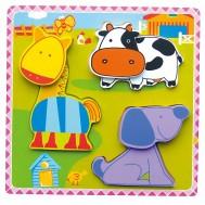 3D Mutlu Çiftlik Puzzle