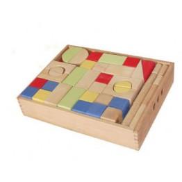 Renkli Geometrik Şekilli Blok
