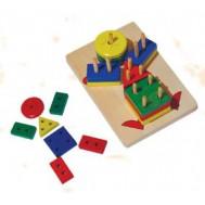 Çocuk Modelli Geometrik Şekiller