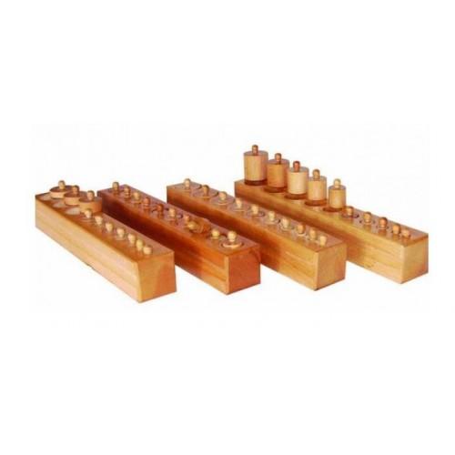 Montessori Blok Silindirleri modelleri, Montessori Blok Silindirleri fiyatı, anaokulu Blok Köşesi fiyatları, anasınıfı Blok Köşesi modelleri görselleri ve resimleri, anaokulu kreş malzemeleri
