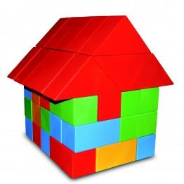 Renkli Ev Modelli Blok