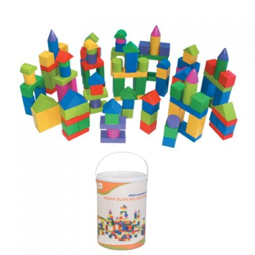 120 Parça Ahşap Blok Seti modelleri, 120 Parça Ahşap Blok Seti fiyatı, anaokulu Blok Köşesi fiyatları, anasınıfı Blok Köşesi modelleri görselleri ve resimleri, anaokulu kreş malzemeleri
